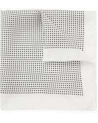 Emma Willis - Printed Silk Pocket Square - Lyst