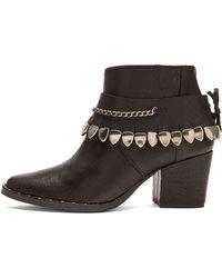 Frēda Salvador Comet Leather Booties - Lyst
