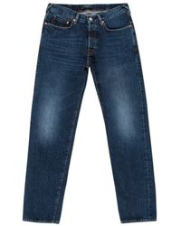 Paul Smith | Men's Classic-fit Dark-wash Italian Selvedge Jeans | Lyst