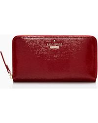 Kate Spade Cedar Street Patent Lacey - Lyst