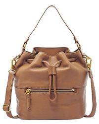 Fossil 'Vickery' Drawstring Tote - Lyst