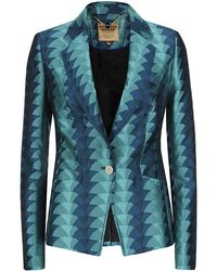 Ted Baker Geo Suit Jacket - Lyst