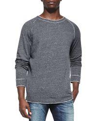 Diesel Slumis Rawedge Sweatshirt - Lyst