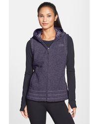 The North Face 'Novelty Crescent' Sweatshirt Vest - Lyst