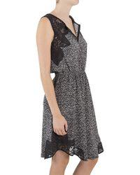Sea Lace Combo Dress - Lyst