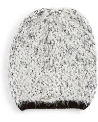 CALVIN KLEIN 205W39NYC - Boucle Mixed Knit Beanie - Lyst