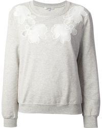 Carven | Hairnet Sweatshirt | Lyst
