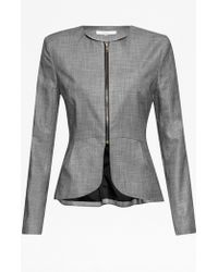 French Connection Wendy Weave Collarless Jacket - Lyst