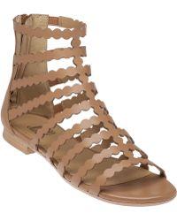 Vaneli For Jildor | Laser-Cut Gladiator Sandals | Lyst