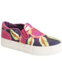 Ash - Womens Jungle Bis Slip On Trainers - Lyst