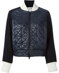 Tsumori Chisato Quilted Reversible Jacket - Lyst