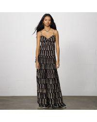 Denim & Supply Ralph Lauren Ruched Cotton Mina Maxidress - Lyst