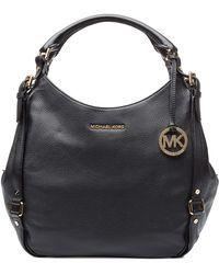 MICHAEL Michael Kors Leather Large Bedford Hobo Bag - Lyst