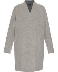 Rag & Bone - Singer Reversible Wool And Cotton-blend Coat - Lyst