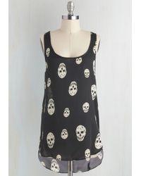 Sunny Girl Pty Lltd - Skull-lastic Looks Top - Lyst