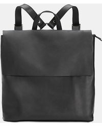 Eileen Fisher - Italian Leather Small Backpack - Lyst