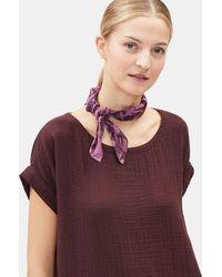 Eileen Fisher - Artisanal Organic Cotton Bandana - Lyst