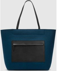Eileen Fisher - Pocket Tote By Graf Lantz For - Lyst