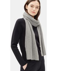 Eileen Fisher - Lofty Recycled Cashmere Scarf - Lyst