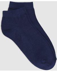 Eileen Fisher - Viscose Blend Ped Sock - Lyst