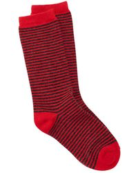 Eileen Fisher - Cozy Viscose Blend Pinstripe Sock - Lyst