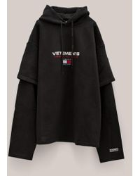 Vetements | X Tommy Hilfiger Double Sleeve Hoodie | Lyst