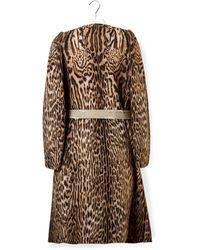 Chloé - Leopard Coat - Lyst