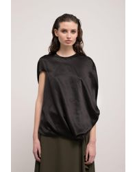 J.W. Anderson | Asymmetric Draped Top | Lyst