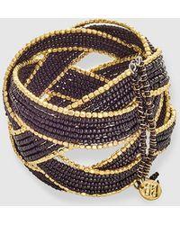 Gloria Ortiz - Gold And Black Bracelet - Lyst