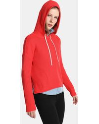 Green Coast - Ribbed Jumper With Hood - Lyst