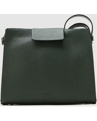 Esprit - Green Crossbody Bag With Zip Fastening - Lyst