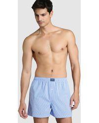 Polo Ralph Lauren - Blue Fabric Boxer Shorts - Lyst