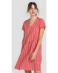 indi & cold - Short Printed Dress - Lyst