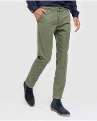 Green Coast - Green Slim-fit Chinos - Lyst