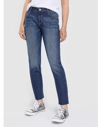 Green Coast - Blue Straight Fit Jeans - Lyst