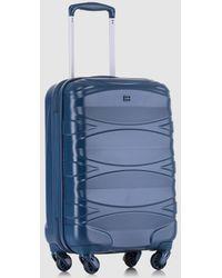 Gloria Ortiz - Blue 32l Hard-sided Cabin luggage - Lyst
