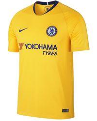 Lyst - Nike 2017 18 Chelsea Fc Stadium Home Football Shirt in Blue ... ee0e4e9919