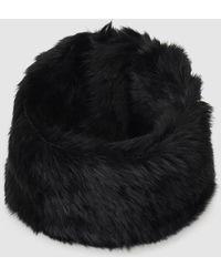 Gloria Ortiz - Fur Black Natural Fur Cowl - Lyst