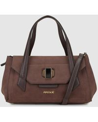 Pepe Moll - Brown Handbag With Clasp - Lyst