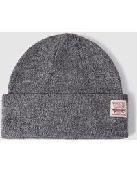 Ralph Lauren - Grey Flecked Hat - Lyst