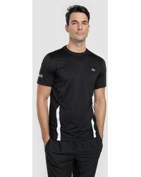 Lacoste - Black Sporty T-shirt - Lyst