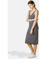 4ca27fc3d47 indi   cold - Short Dress With Nautical Stripe Print - Lyst