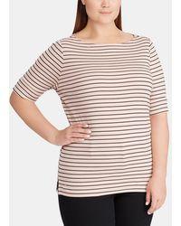 Denim & Supply Ralph Lauren - Plus Size Basic Striped T-shirt - Lyst