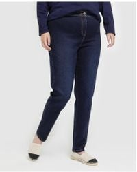 Couchel - Plus Size jeggings With Front Fastening - Lyst