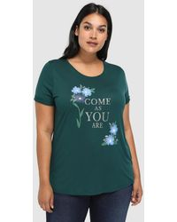 Couchel - Plus Size T-shirt With Front Print - Lyst
