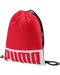 Lyst - Puma Studio Barrel Bag 5415c6d69f55a
