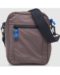 Jo & Mr. Joe - Mens Brown Messenger Bag With A Front Pocket - Lyst