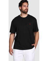 Polo Ralph Lauren - Big And Tall Black Short-sleeve T-shirt - Lyst
