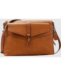 Esprit - Large Brown Crossbody Bag With Front Outer Pocket - Lyst