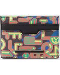 Jo & Mr. Joe - Imagine Dragons Card Holder With Multicoloured Print - Lyst
